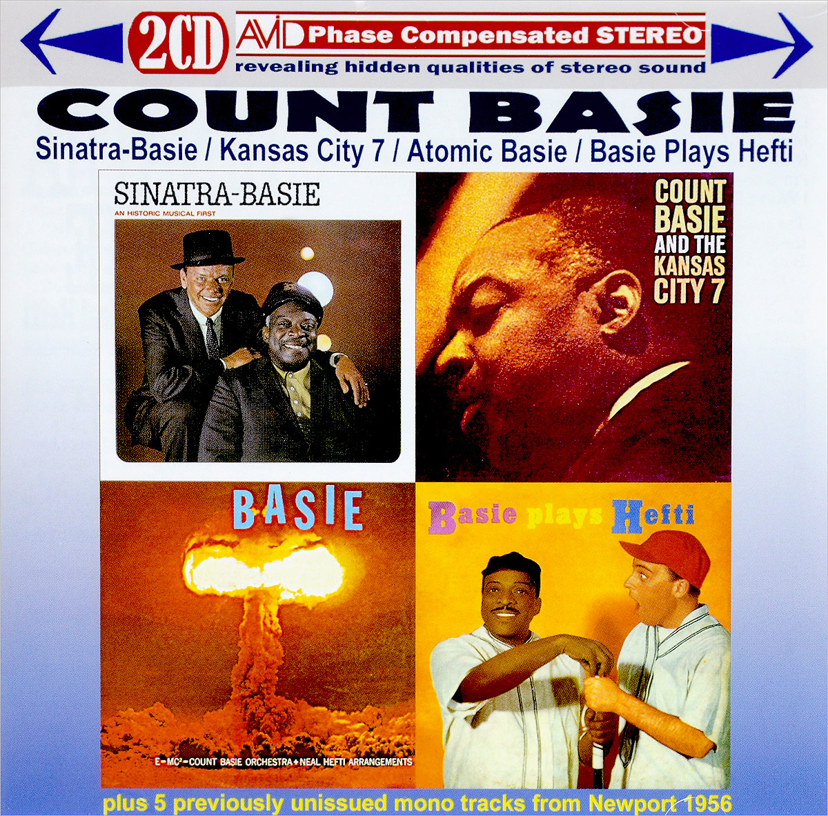 Каунт Бэйси Count Basie. Four Classic Albums Plus (2 CD) каунт бэйси дюк эллингтон duke ellington count basie duke ellington meets count basie