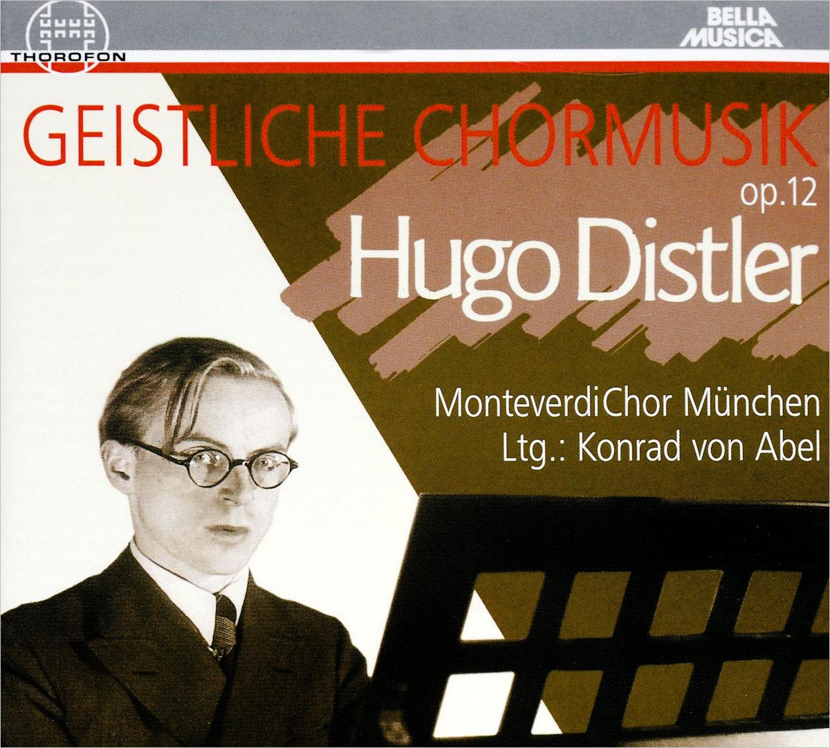 Hugo Distler. Geistliche Chormusik op.12