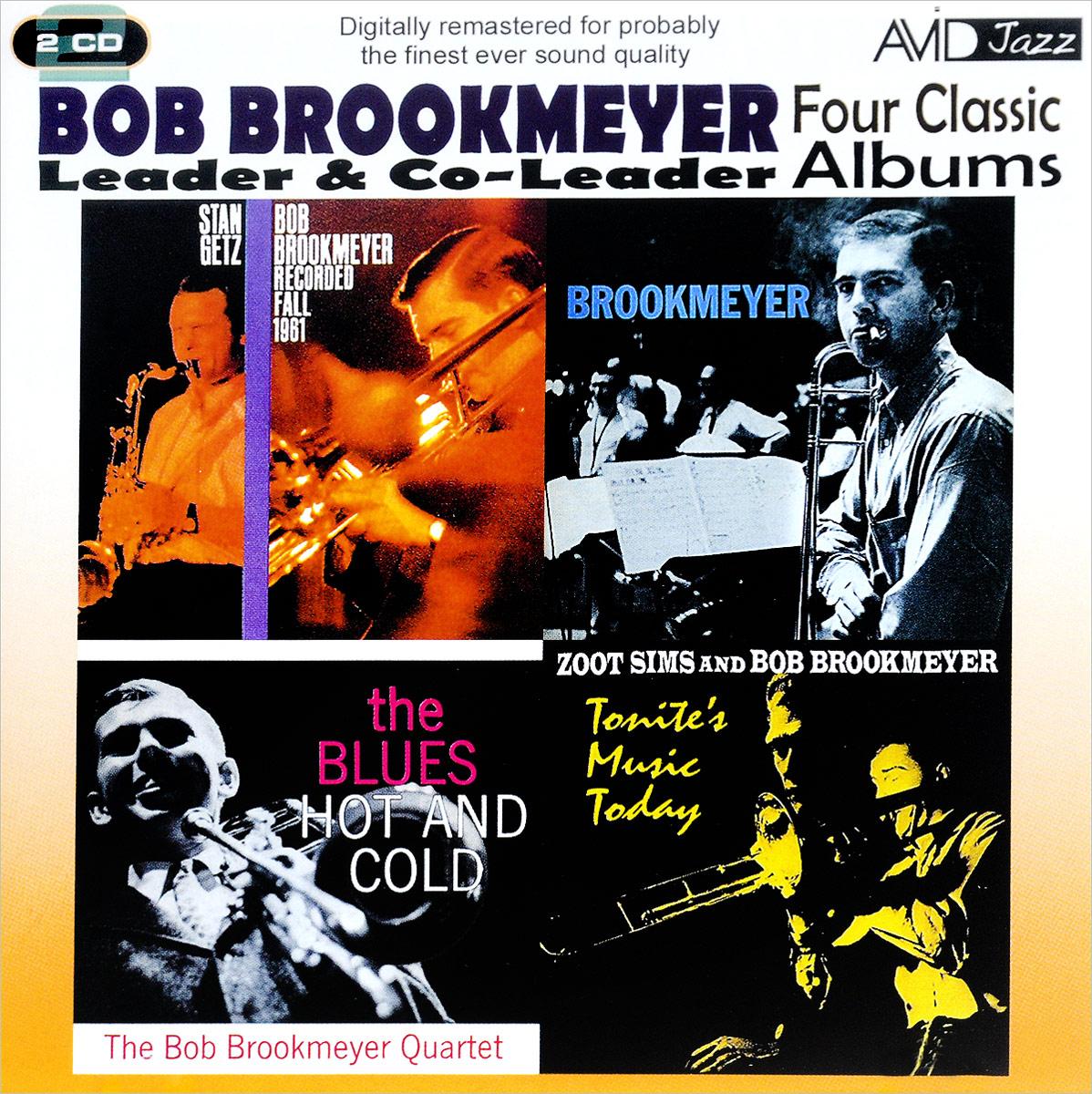 Боб Брукмэйер Bob Brookmeyer. 4 Classic Albums (2 CD) недорго, оригинальная цена