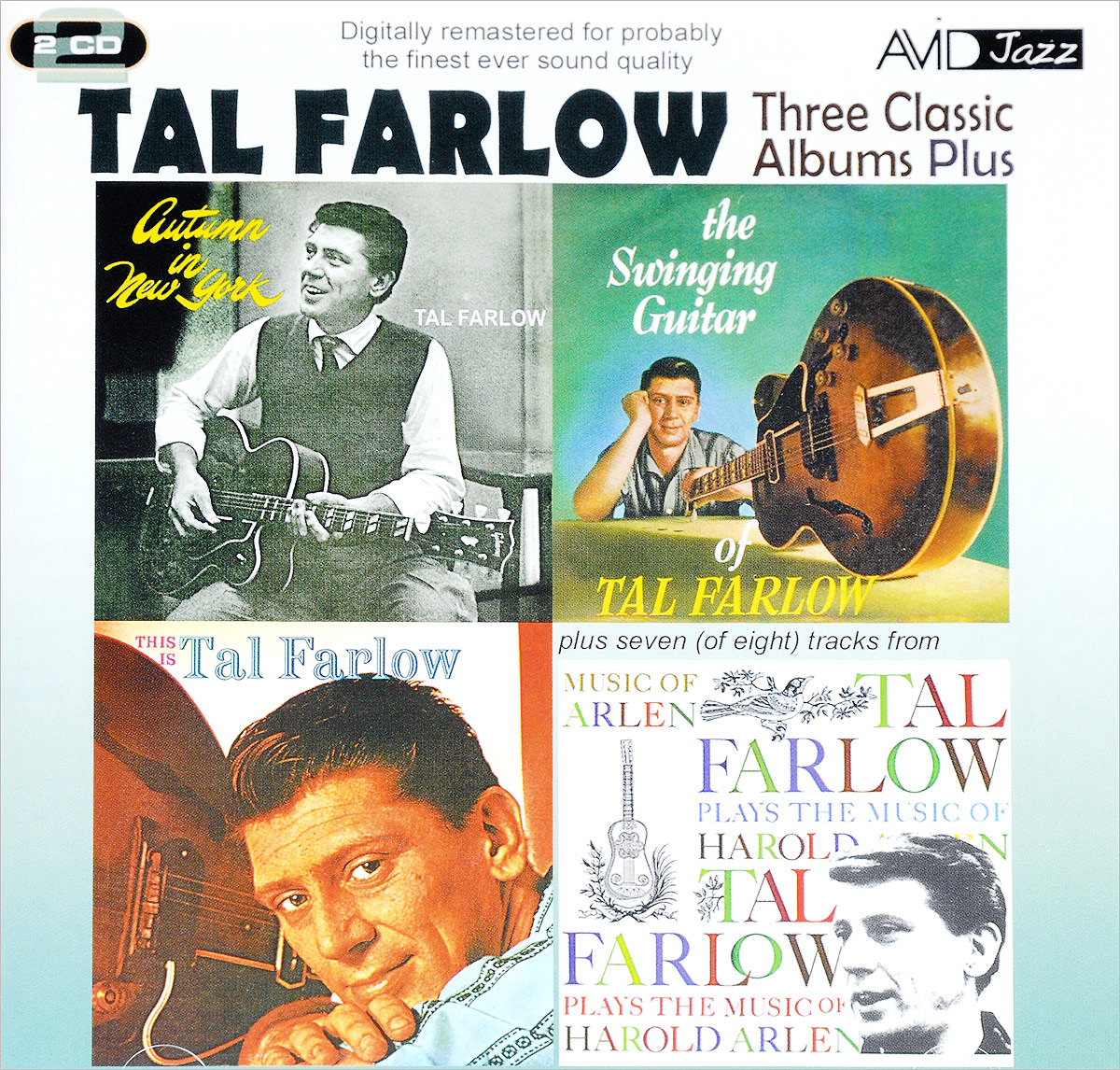 Tal Farlow. Three Classic Albums (2 CD) sun records 9 classic albums 4 cd
