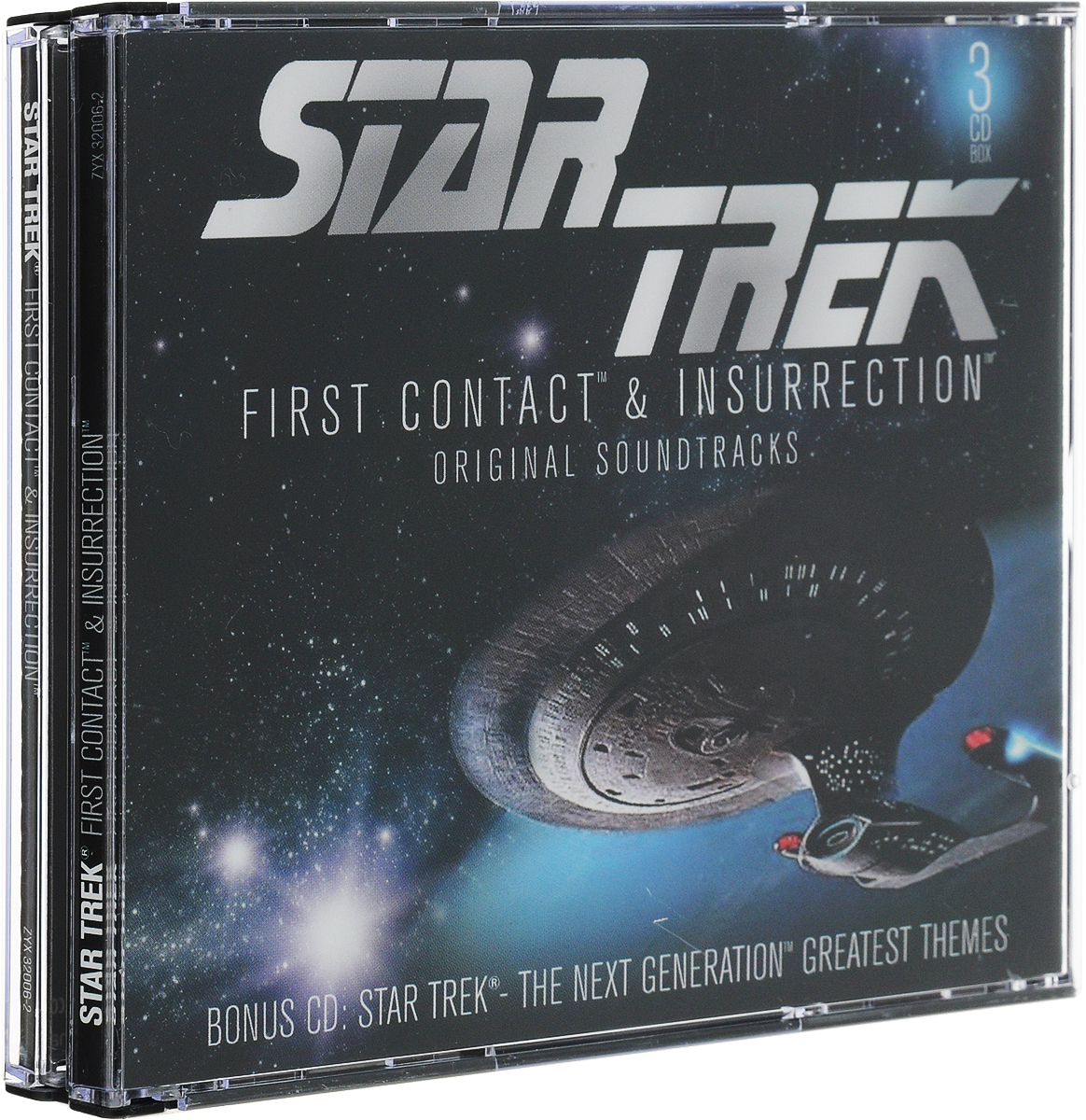 Zakazat.ru Startrek. First Contact & Insurrection (3 CD)