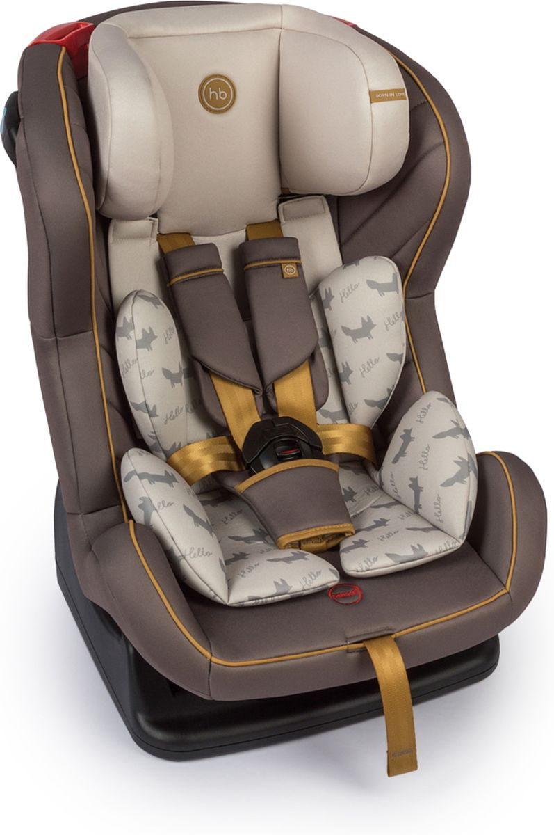 Happy Baby Автокресло Passenger V2 цвет коричневый - Автокресла и аксессуары