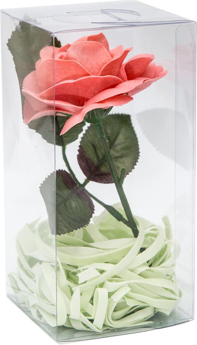 Natures Intent Мыло туалетное в форме цветка, цвет: розовый