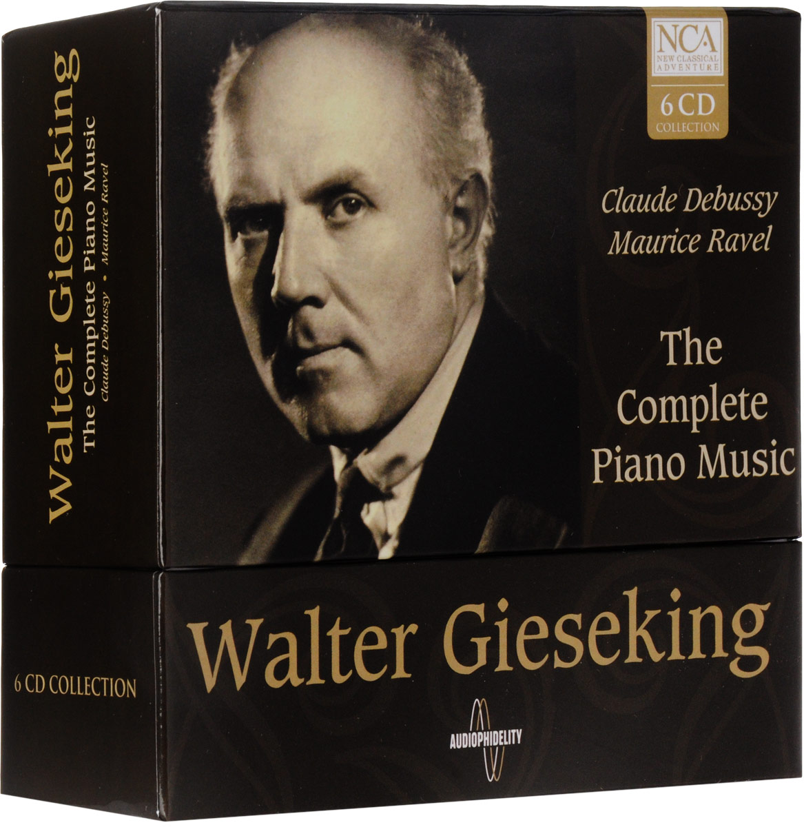 Walter Gieseking. Conplete Piano Music (6 CD)