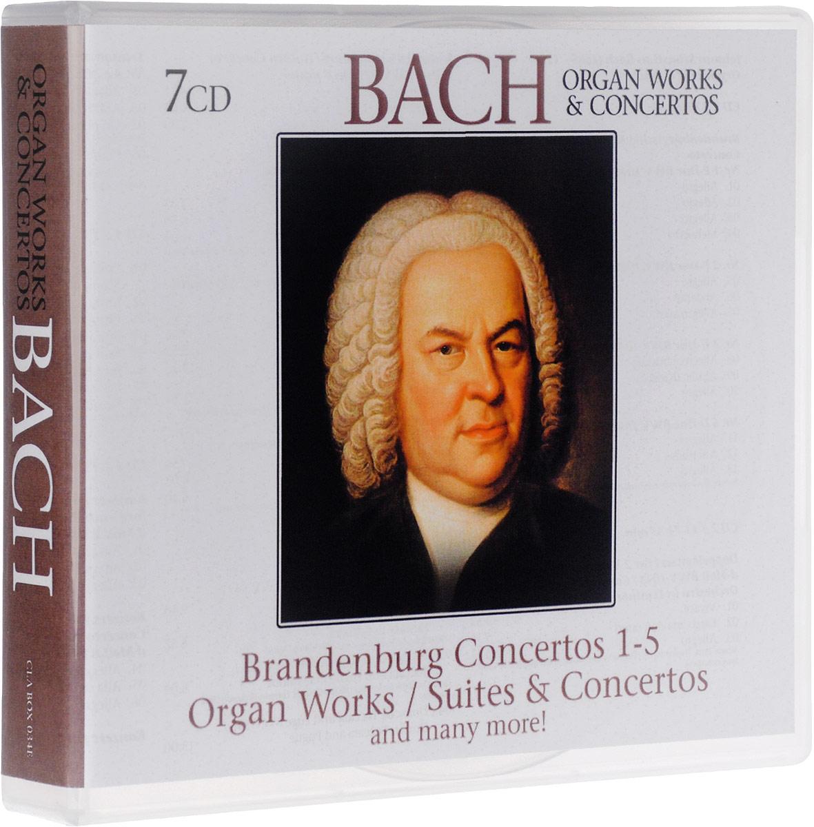 Johann Sebastian Bach. Organ Works & Concertos (7 CD) stefan hussong johann sebastian bach goldberg variations