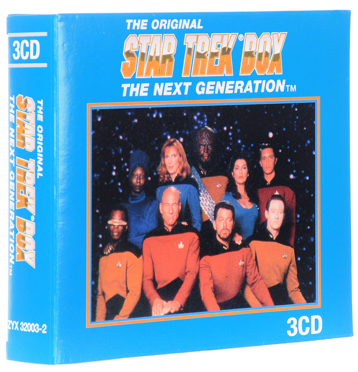 Startrek. The Next Generation. Original Television Soundtrack (3 CD)