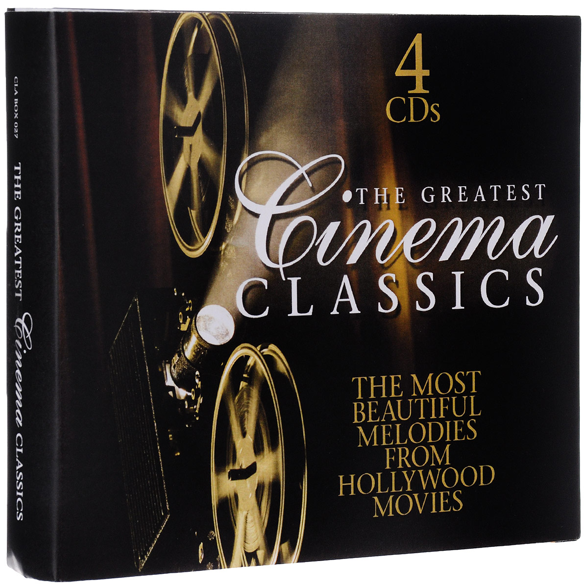 Movie Classics: Greatest Hits/ Bach/ Mozart/ Wagner And More (4 CD) queen greatest hits ii cd