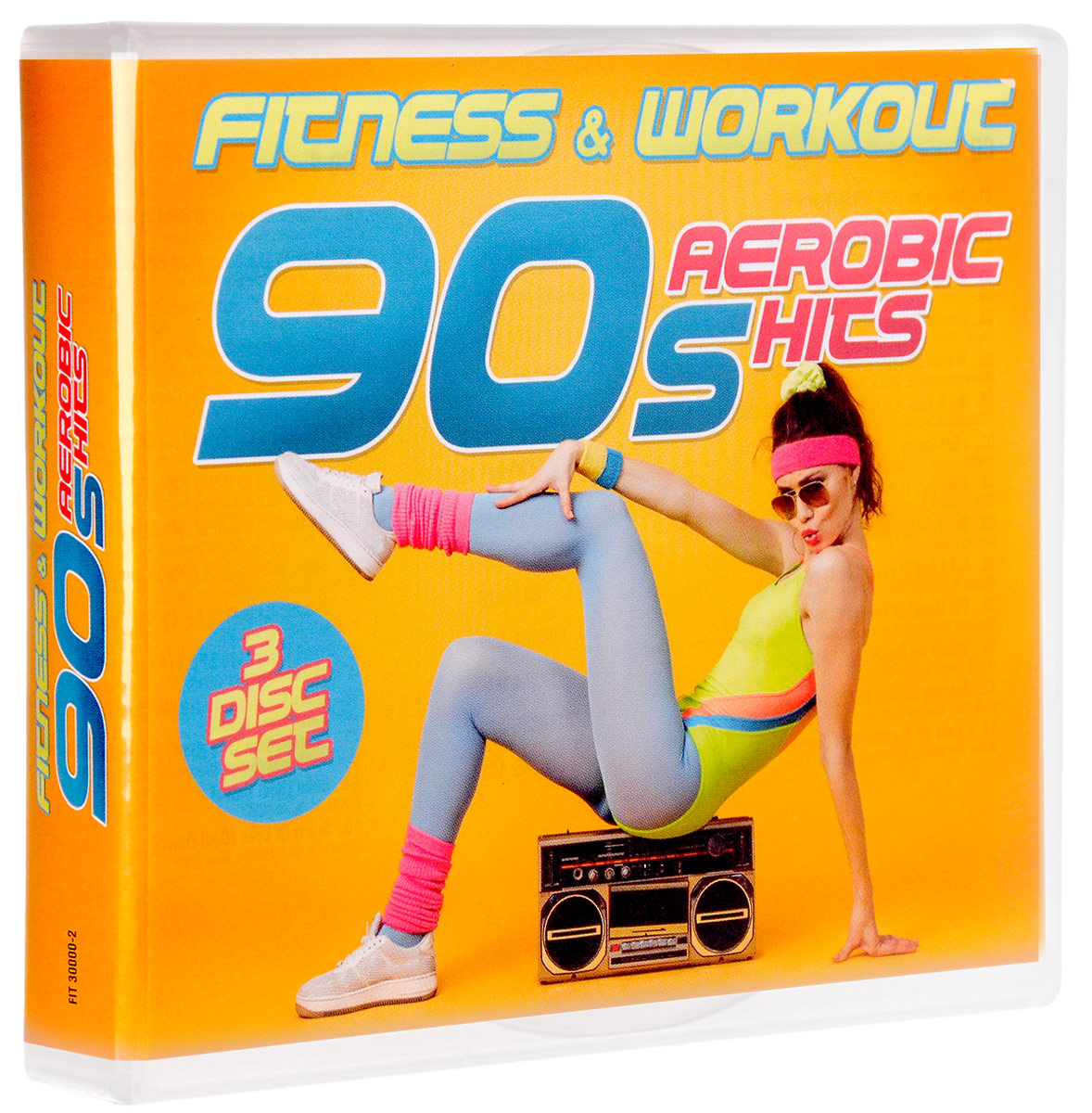Fitness & Workout. 90s Aerobic Hits (3 CD)