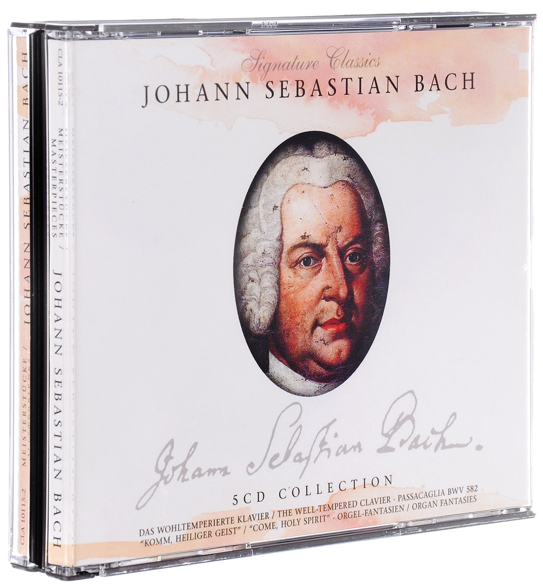 Johann Sebastian Bach. Master Pieces (5 CD) крем anchor 1kg 2015