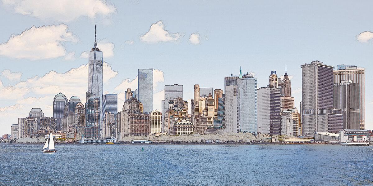 Фотообои PosterMarket Нью-Йорк, 368 x 184 смWM-43NWНью-Йорк- один из крупнейших мегаполисов мира, экономический, деловой, культурный центр Америки, а также один из самых популярных городов среди туристов. В этом городе жизнь не затихает ни на минуту. Многие зданияНью-Йоркаостаются самымикрасивымии одними из самых высоких в мире.
