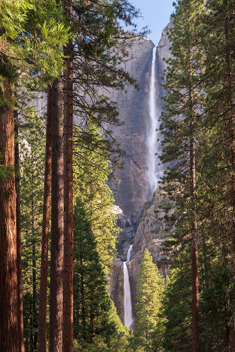 Фотообои PosterMarket Йосемитский водопад, 254 x 184 смWM-27Йосемитский водопадcчитается главным символом красоты национального парка Йосемити в штате Калифорния. Высота водопада достигает 739 метров, и по этому показателю он занимает седьмое место в мире. Его красота притягивает к себе внимание туристов со многих уголков нашей планеты.