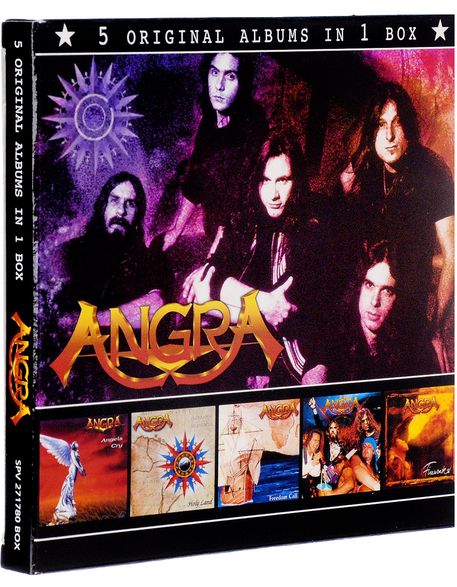 Angra Angra. 5 Original Albums In One Box (5 CD) mst 532141 cmx 1 10 4wd fj40 kit off road car climbing simulation model car