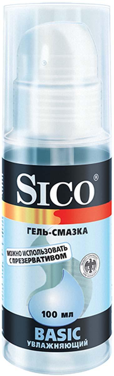 SICO Гель-смазка Basic, увлажняющий, 100 мл lola toys bent anal plug синяя анальная пробка