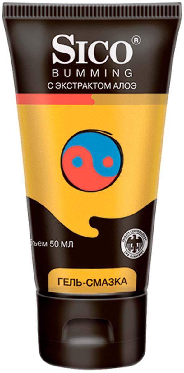 SICO Гель-смазка Bumming, с экстрактом алоэ, 50 мл