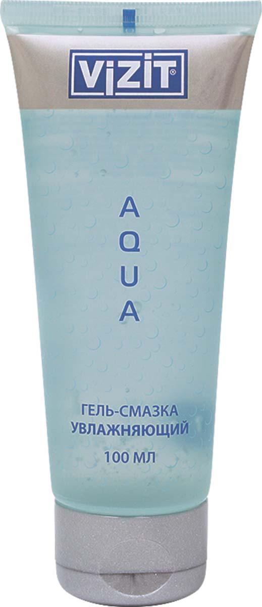 VIZIT Гель-смазка Aqua, увлажняющий, 100 мл92265Прозрачный гель на водной основе.Обладает успокаивающим действием, увлажняет слизистую оболочку и кожу.Имитирует естественную вагинальную смазку.Гель обладает прекрасным увлажняющим действием, увеличивая скольжение, тем самым позволяет получить полноценный комфорт и приятные ощущения во время сексуальной близости.Не содержит красителей, pH-сбалансированы, не содержит жиров, легко смывается водой, не пачкает белье, полностью совместим с презервативами и любыми изделиями из латекса и полимерных материалов, не является контрацептивом.