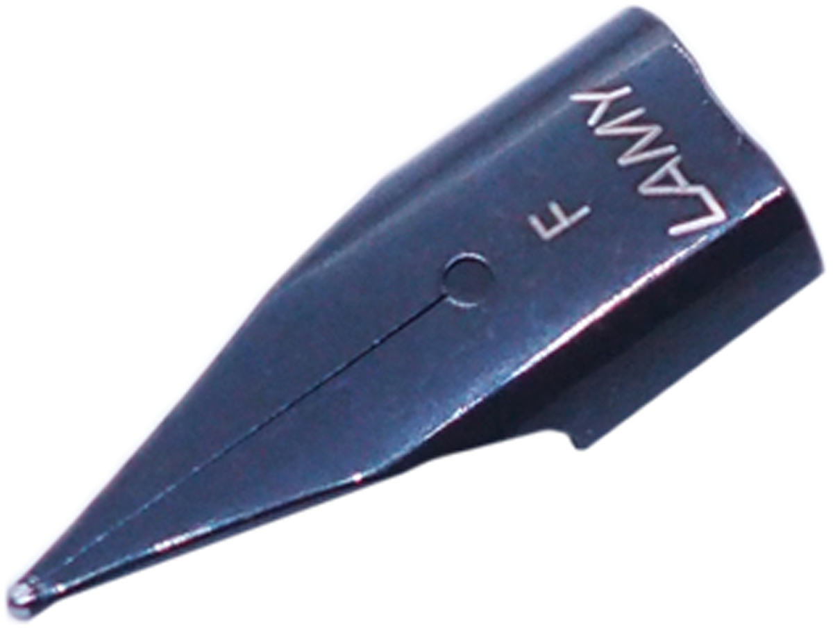Lamy Перо толщина F синее1615058Сменное черное стальное перо для перьевых ручек Lamy.