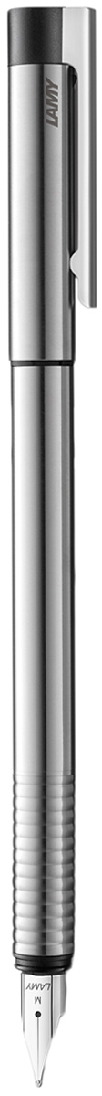 Lamy Ручка перьевая Logo синяя цвет корпуса серый металлик толщина EF4000034Lamy Ручка перьевая Logo синяя цвет корпуса серый металлик толщина EF