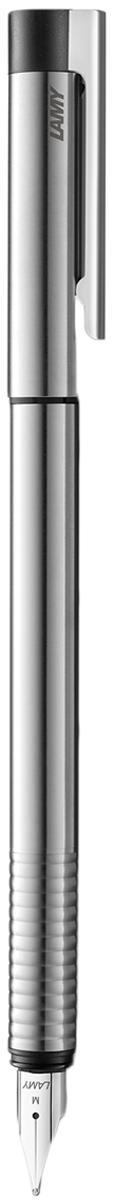 Lamy Ручка перьевая Logo цвет корпуса серый металлик толщина F -  Ручки