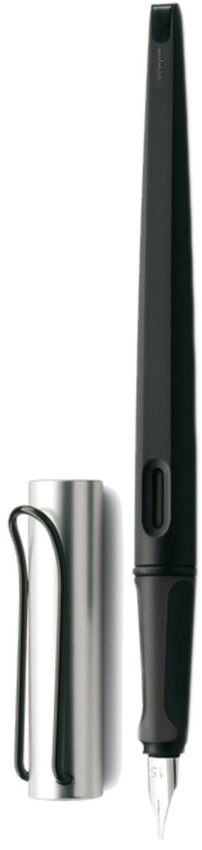 Lamy Ручка перьевая Joy цвет корпуса черный, серебристый толщина 1,9 мм lamy joy комплект ручка перьевая 015 запасные перья картридж цвет корпуса черный красный
