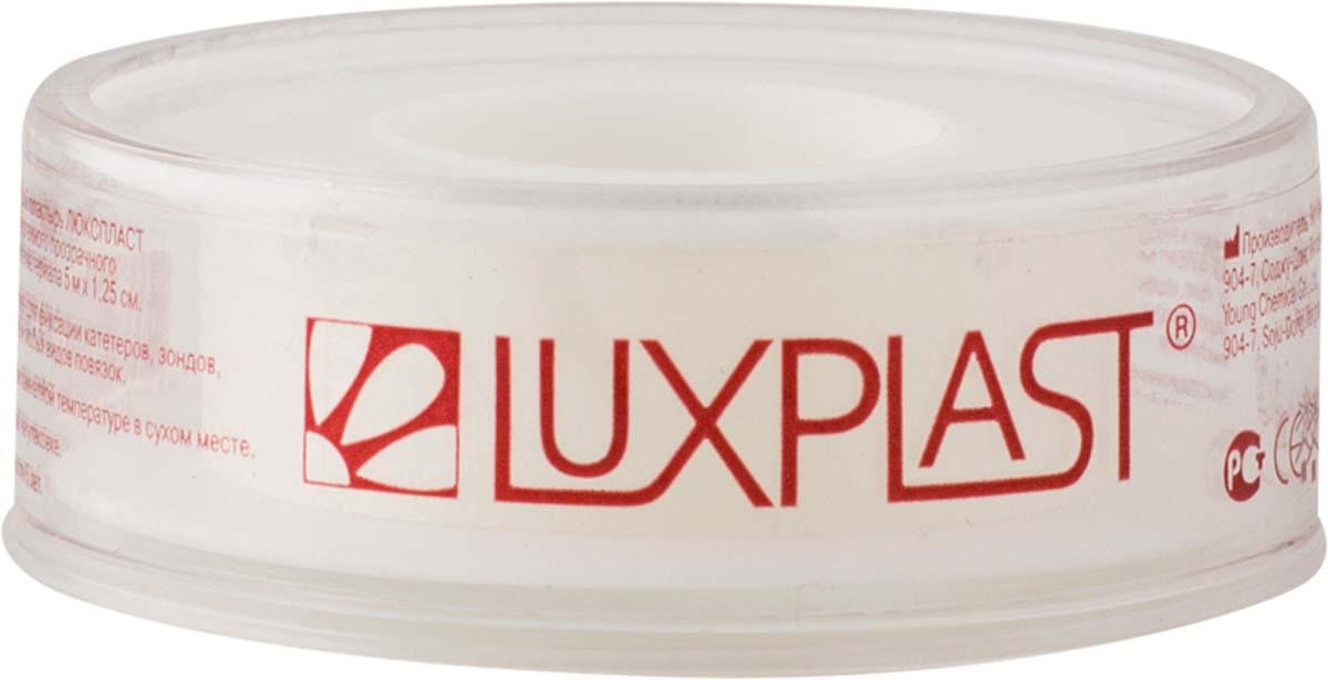 Luxplast Лейкопластырь медицинский, на полимерной основе, прозрачный, 5 м х 1,25 см1907Пластырь фиксирующий в катушке.- Полимерная основа защищает рану от влаги- Прозрачный.