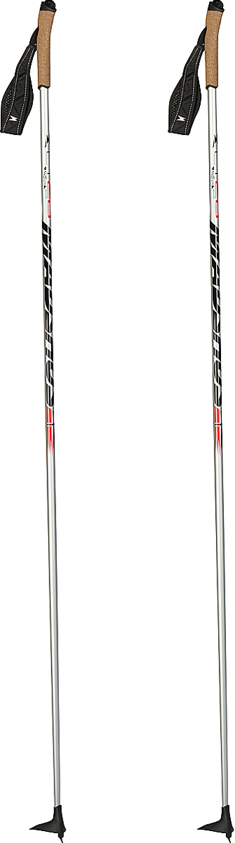 Палки лыжные Madshus CT 20 Ski Poles, цвет: серебряный, длина 170 смN139004Прогулочные палки с эргономичной пробковой рукояткой и регулируемым ремешком. Эргономичная пробковая рукоятка и регулируемый темляк для максимального удобства во время катания. Легкое древко выполнено из карбона и стекловолокна.