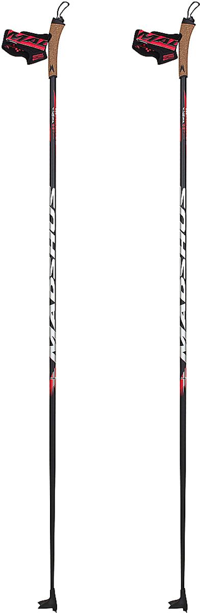 Палки лыжные Madshus CR40 Ski Poles, цвет: черный, серебряный, длина 165 смN149004Древко, на 40% состоящее из углеволокна, обладает невероятным соотношением цена – качество, а пробковая гоночная рукоятка и темляк Contour Race с возможностью 3D-подгонки дадут вашим рукам непревзойденный .