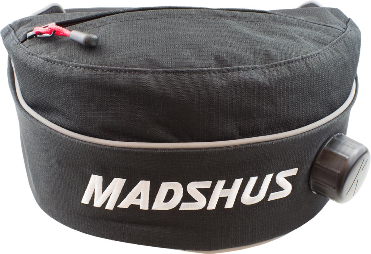 Термо-сумка Madshus Thermobelt на пояс, цвет: черныйN1650502Поясная термо-сумка Madshus Thermobelt - это отличный вариант для хранения напитков во время занятия зимними видами спорта. Внешняя ткань выполнена из прочного полиэстера плотностью 600 ден, а внутри расположена бутылка, которая легко вынимается для мытья. Помимо основного отделения, в сумке предусмотрен небольшой карман для мелочей.