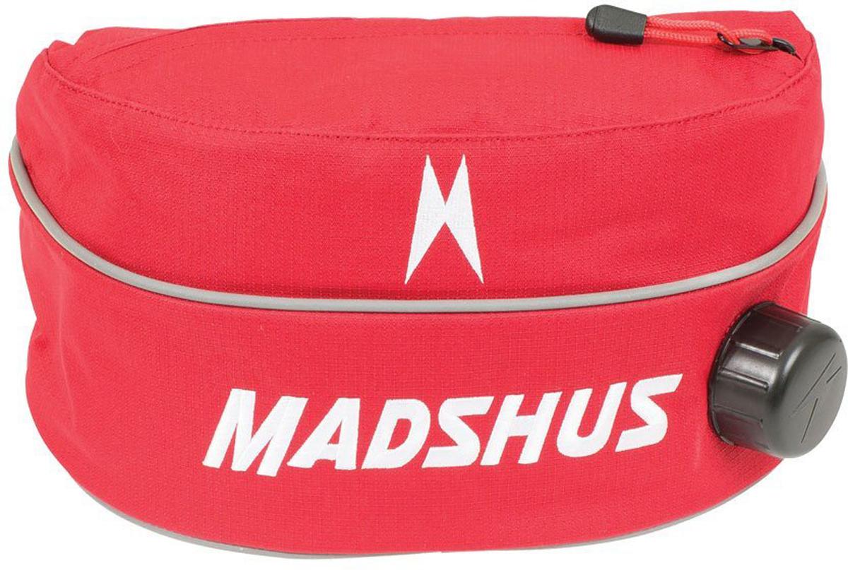Термо-сумка Madshus Thermobelt на пояс, цвет: красныйN1650503Поясная термо-сумка Madshus Thermobelt - это отличный вариант для хранения напитков во время занятия зимними видами спорта. Внешняя ткань выполнена из прочного полиэстера плотностью 600 ден, а внутри расположена бутылка, которая легко вынимается для мытья. Помимо основного отделения, в сумке предусмотрен небольшой карман для мелочей.Как начать бегать: советы тренера. Статья OZON Гид