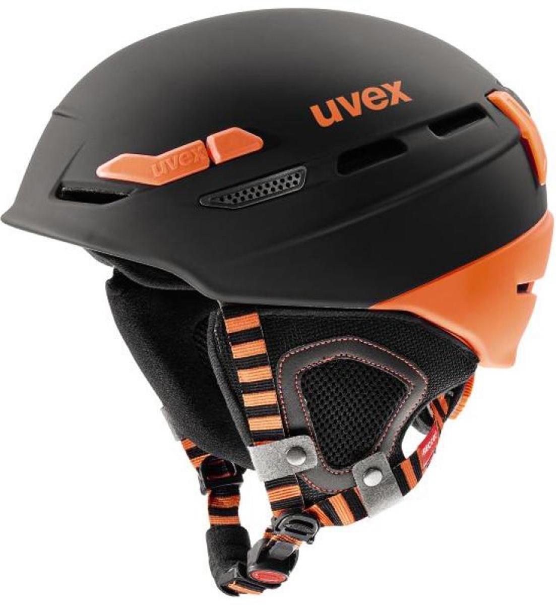 Шлем горнолыжный Uvex 8000 Tour, цвет: черный, оранжевый. Размер 57-606204.2805Суперлегкий шлем для ски-тура от Uvex — комфорт и безопасность в любых условиях.Конструкция double immould для максимальной прочности.Суперлегкость: шлем весит всего лишь около 360 грамм.Встроенные датчик Recco позволяет определить местонахождение человека при попадании в лавину.Простая и быстрая подгонка размера шлема системой Boa.Ремешок на подбородке monomatic расстегивается и застегивается одним нажатием кнопки.Съемная гипоаллергенная подкладка.внешняя оболочка: 100% поликарбонат; внутренняя часть: EPS пластик
