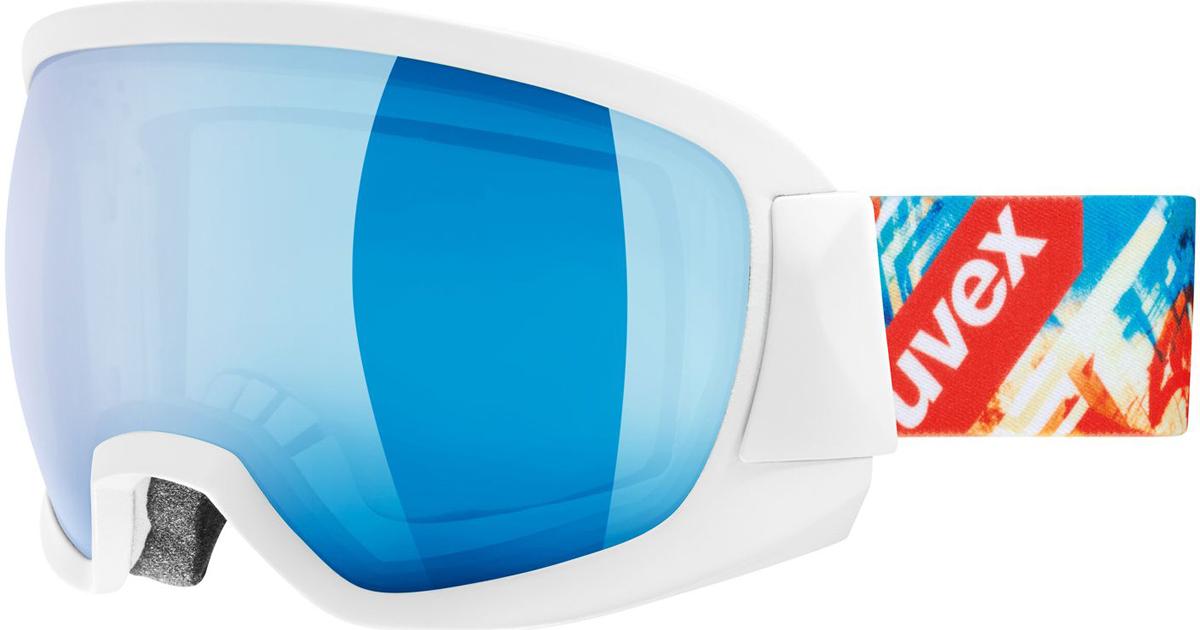 Маска горнолыжная Uvex Contest FM Ski, цвет: белый0133.1126Маска от Uvex для катания на горных лыжах при неярком солнце. Модель обеспечивает максимальный обзор при скоростном спуске. Большая линза и конструкция оправы обеспечивают оптимальный обзор.Снег не налипает, а соскальзывает с линзы. Также в модели использован комфортный пенный уплотнитель.Покрытие Supravision не позволит линзе запотеть.Состав: оправа: 100% полиуретан, линза: 100% поликарбонат; стреп: 100% нейлон