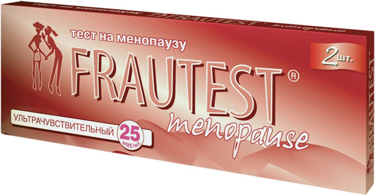 Frautest Тест на определение менопаузы Menopause, тест-полоски, 2 шт тест frautest на овуляцию n5 frautest test