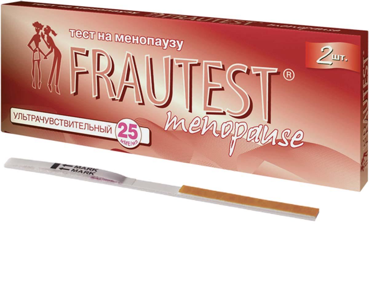 FrautestТест на определение менопаузы Menopause, тест-полоски, 2 шт Frautest