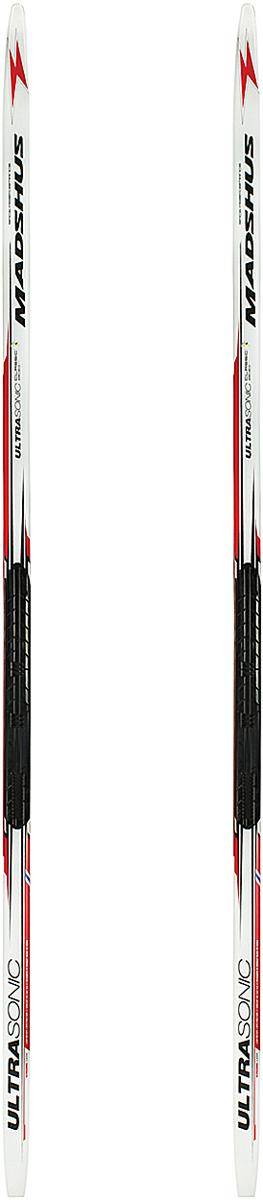 Лыжи беговые Madshus Ultrasonic Classic Skis NIS, цвет: белый, рост 200 смN16342Беговые лыжи Madshus Ultrasonic Classic Skis NIS обладают сердечником из адамова дерева, армированного карбоном. Это идеальные сверхлегкие гоночные лыжи для начинающего спортсмена, спроектированные на базе сердечника из адамова дерева, армированного карбоном. Специально спроектированная геометрия бокового выреза обеспечивает послушную управляемость, а сбалансированное распределение жесткости в сочетании с продуманным весовым прогибом дают уверенное держание при отталкивании. Скользящая поверхность гоночного уровня P-Tex 2000 Electra Sintered обеспечивает быстрое и плавное скольжение. Боковой вырез: 44-42-43мм. Вес: 1150г/190см. Как выбрать беговые лыжи. Статья OZON Гид