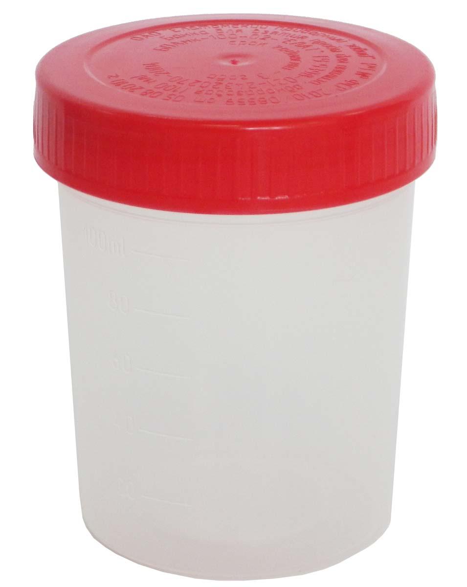 Еламед Банка полимерная для взятия биоматериала для анализа, 100 мл6733Контейнер предназначен для сбора, хранения и транспортировки образцов биологических материалов.