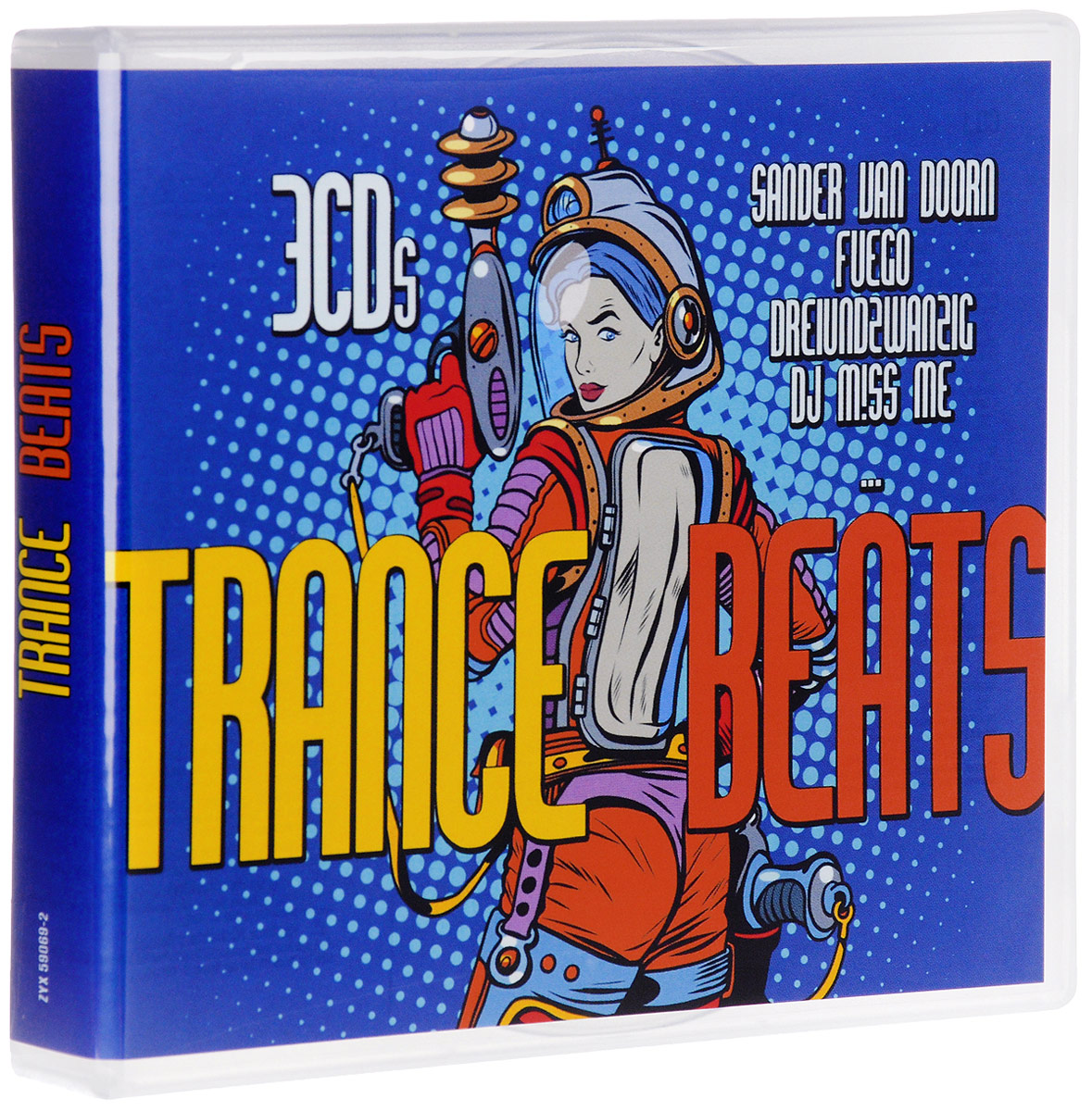 Trance Beats (3 CD) туфли quelle front by ascot 1012701