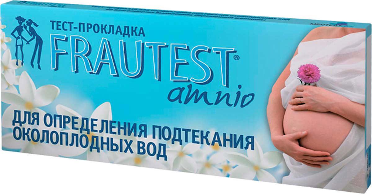 Frautest Тест на определение подтекания околоплодных вод Amnio, тест-прокладка, 1 шт