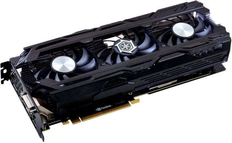 Inno3D GeForce GTX 1080 Ti iChill X3 11GB видеокарта (C108T3C-1SDN-Q6MNX) c107t4 1sdn p5dn