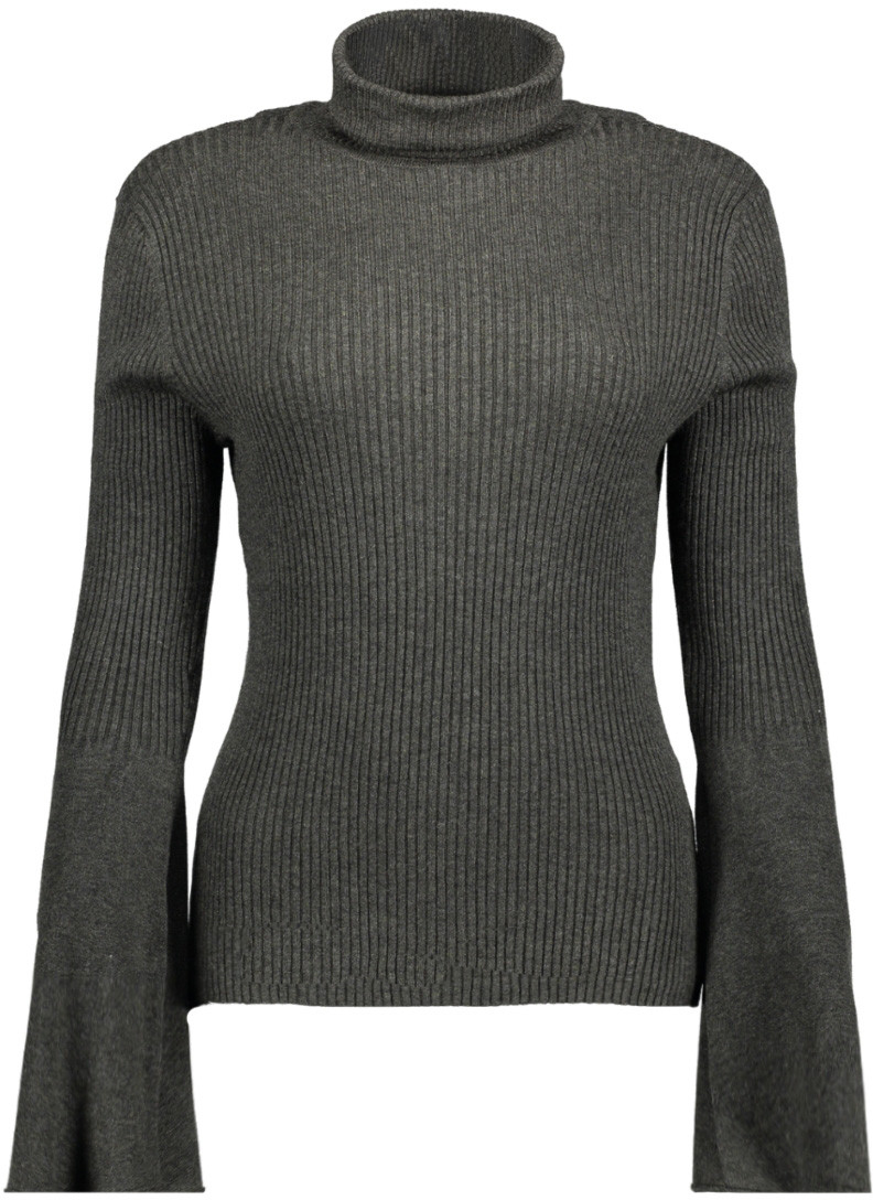 Свитер женский Only, цвет: темно-серый. 15142512_Dark Grey Melange. Размер XS (40/42) платье only цвет черный 15139191 black размер xs 40 42