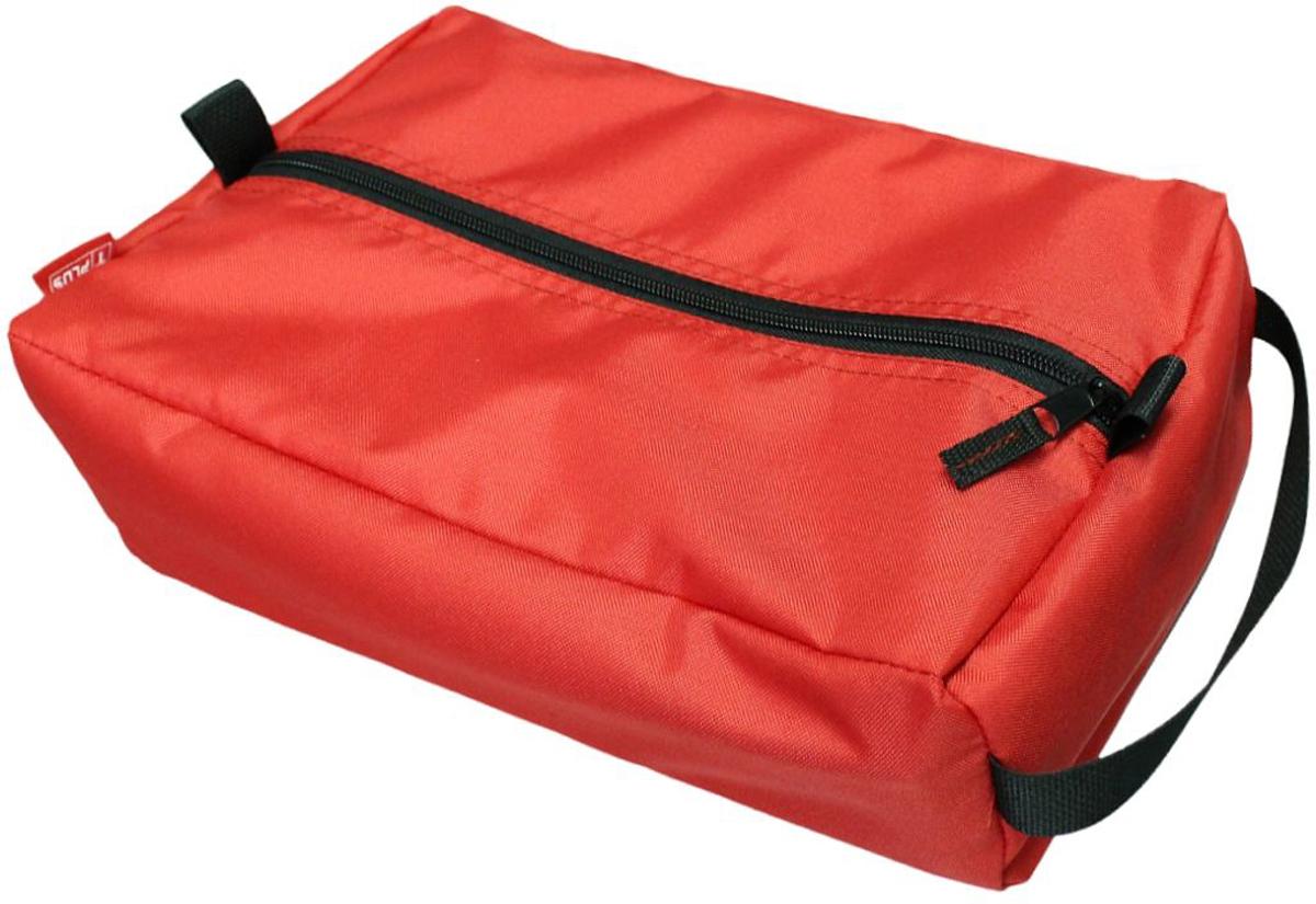 Сумка вещевая Tplus, цвет: красный, 2 лT009595Вещевая сумка Tplus не занимает много места. Она оснащена ручкой для переноски. Имеет одно отделение, в которое легко помещаются небольшие инструменты, принадлежности для автомобиля, средства гигиены, зарядные устройства. Сумка изготовлена из износостойкой ткани.