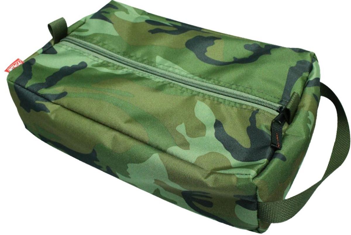 Сумка вещевая Tplus, цвет: нато, 7 лT009606Вещевая сумка не занимает много места. Оснащена ручкой для переноски. Имеет одно отделение, в которое легко помещаются небольшие инструменты, принадлежности для автомобиля, средства гигиены, зарядные устройства. Сумка изготовлена из износостойкой ткани.