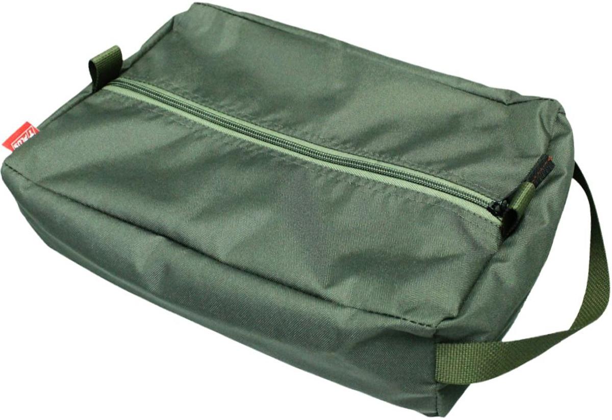Сумка вещевая Tplus, цвет: темно-зеленый, 9 лT009611Вещевая сумка Tplus не занимает много места. Она оснащена ручкой для переноски. Имеет одно отделение, в которое легко помещаются небольшие инструменты, принадлежности для автомобиля, средства гигиены, зарядные устройства. Сумка изготовлена из износостойкой ткани.