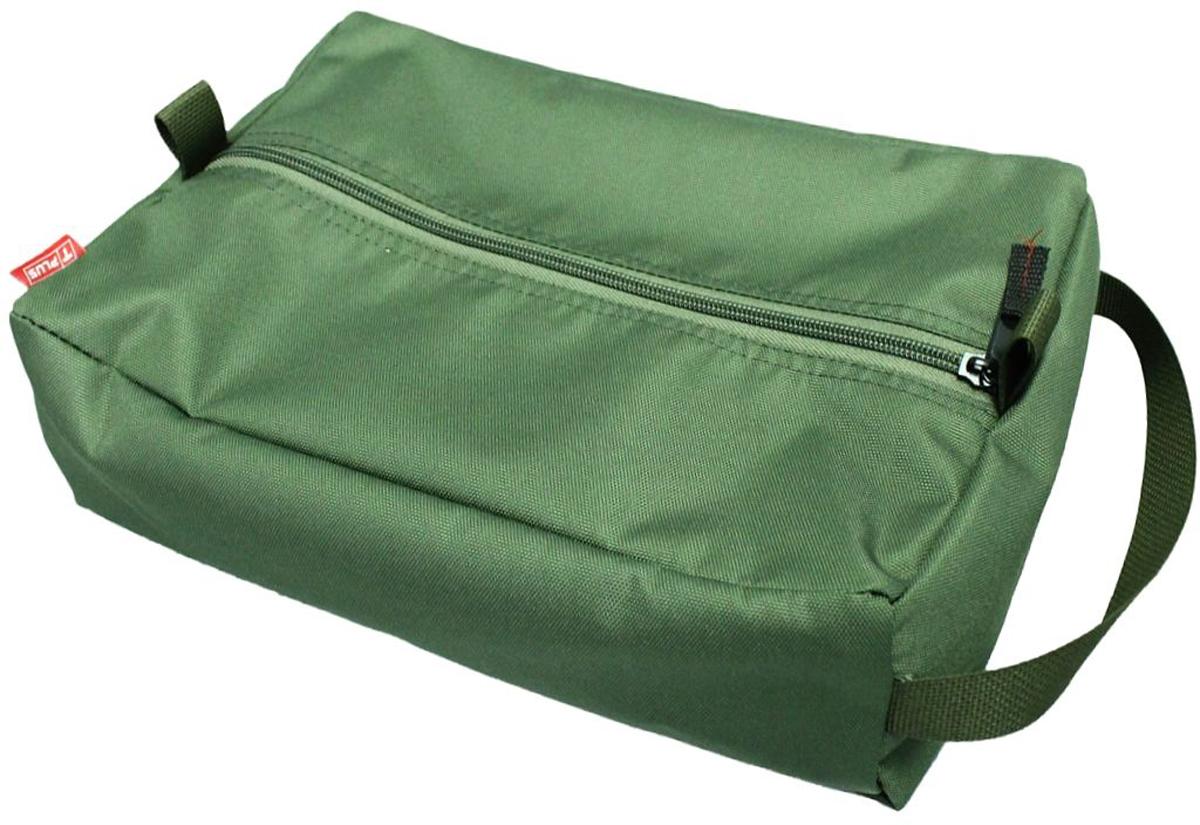 Сумка вещевая Tplus, цвет: оливковый, 9 лT009617Вещевая сумка Tplus не занимает много места. Она оснащена ручкой для переноски. Имеет одно отделение, в которое легко помещаются небольшие инструменты, принадлежности для автомобиля, средства гигиены, зарядные устройства. Сумка изготовлена из износостойкой ткани.