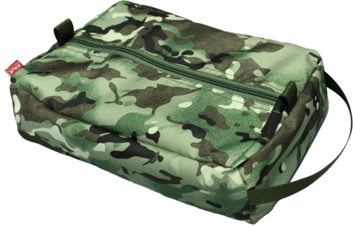 Сумка вещевая Tplus, цвет: мультиколор, 9 лT010166Вещевая сумка не занимает много места. Оснащена ручкой для переноски. Имеет одно отделение, в которое легко помещаются небольшие инструменты, принадлежности для автомобиля, средства гигиены, зарядные устройства. Сумка изготовлена из износостойкой ткани.