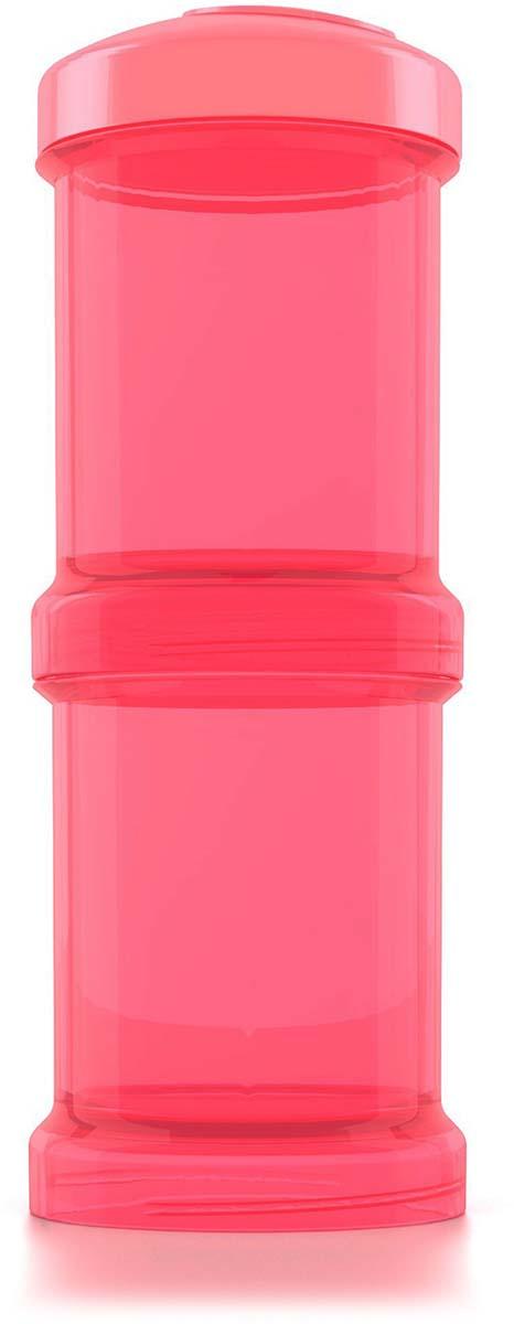 Twistshake Контейнер для сухой смеси Dreamcatcher цвет персиковый 100 мл 2 шт
