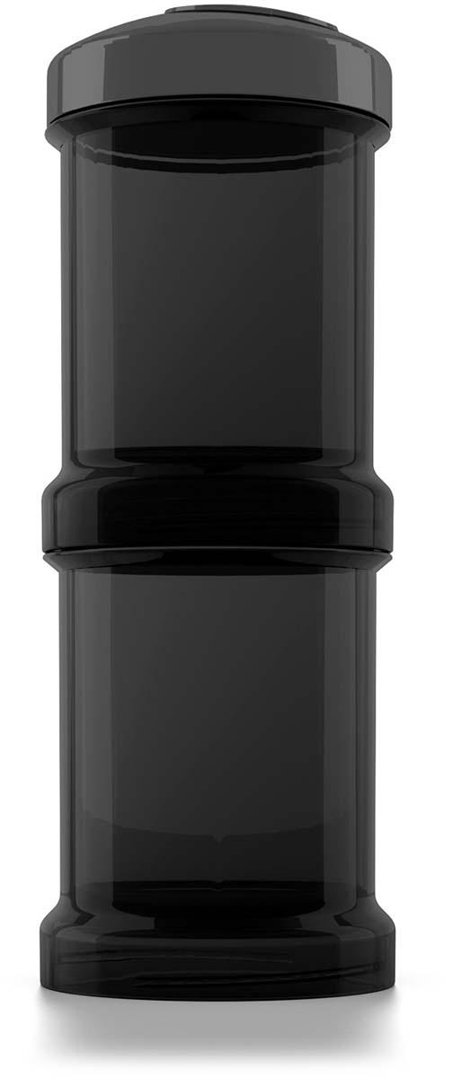Twistshake Контейнер для сухой смеси Superhero цвет черный 100 мл 2 шт смеси и сыпучие материалы