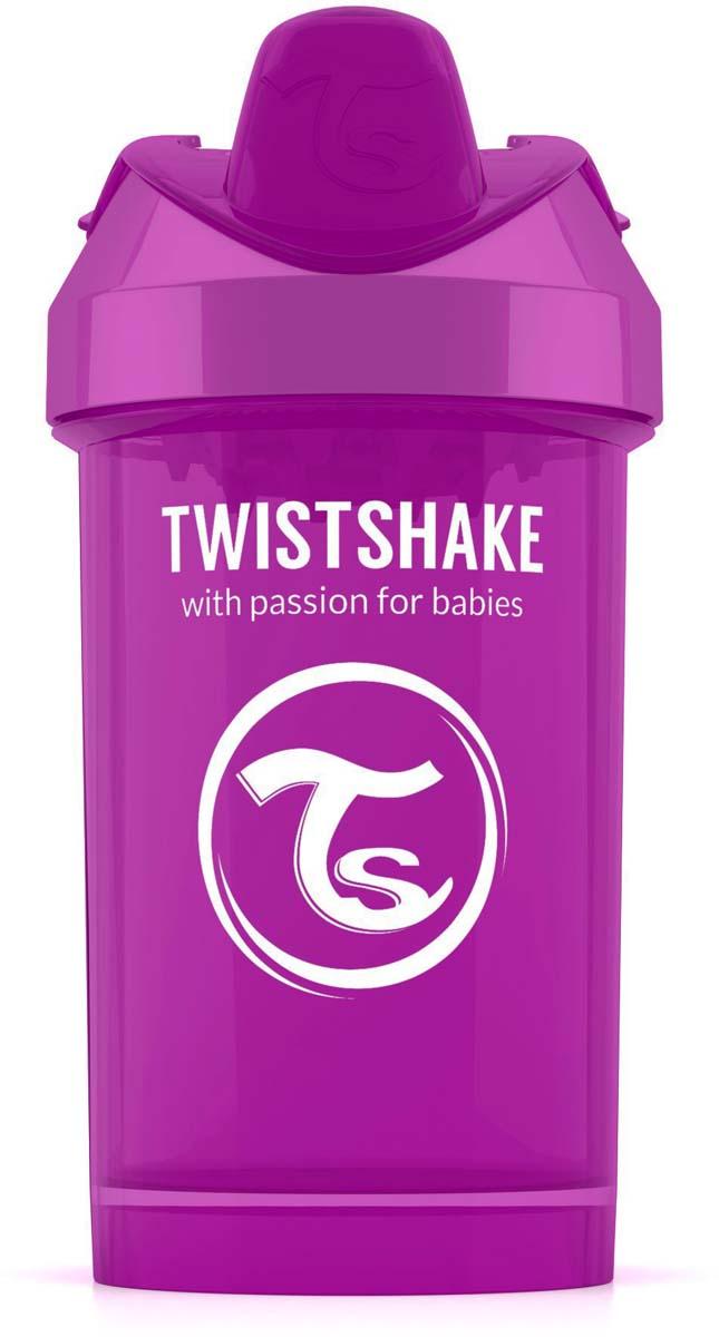 Twistshake Поильник Crawler Cup Bestie цвет фиолетовый 300 мл -  Поильники