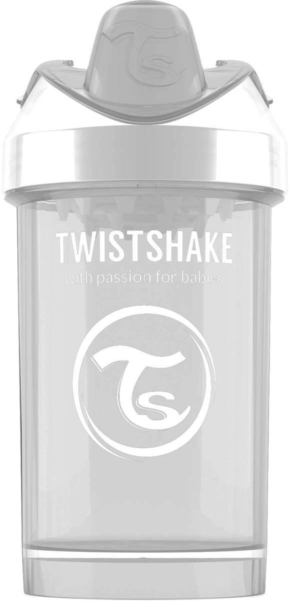 Twistshake Поильник Crawler Cup Diamond цвет белый 300 мл -  Поильники
