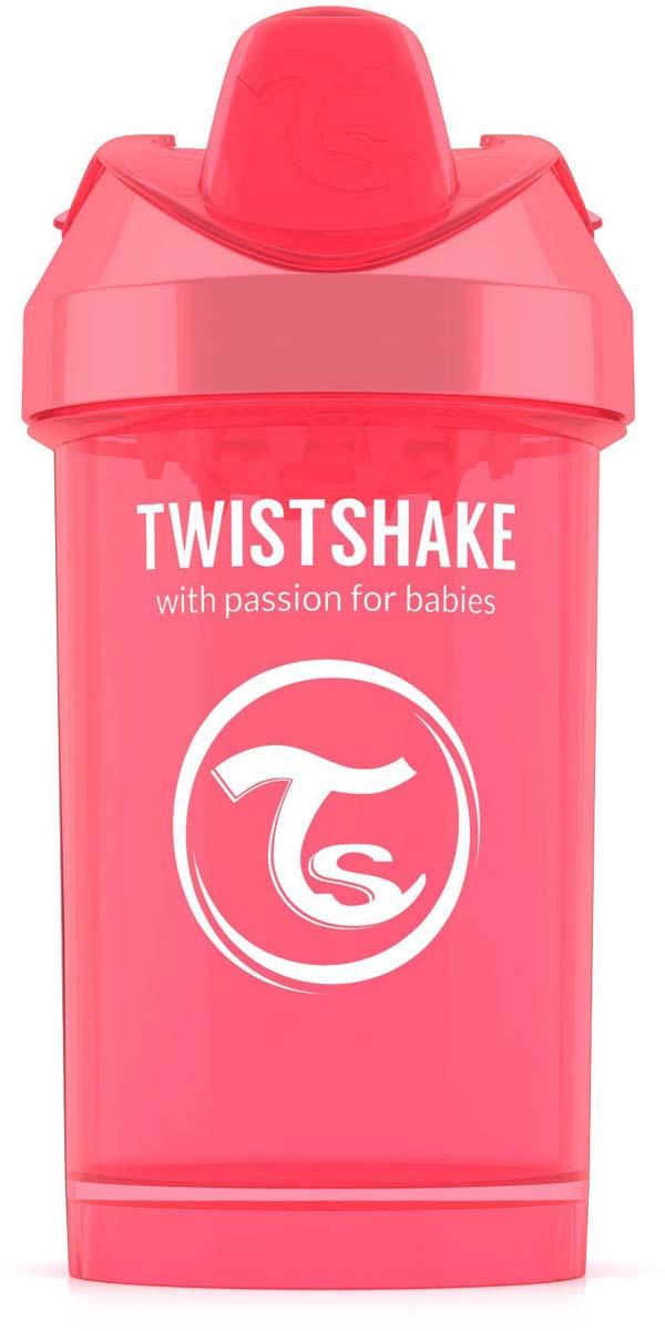 Twistshake Поильник Crawler Cup Dreamcatcher цвет персиковый 300 мл -  Поильники