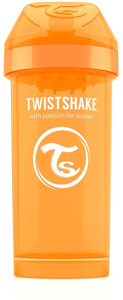 Twistshake Поильник Kid Cup Sunbeam цвет оранжевый 360 мл -  Поильники