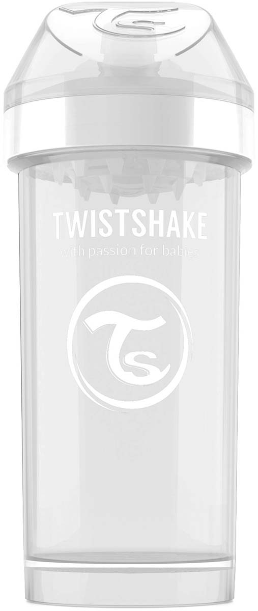 Twistshake Поильник Kid Cup Diamond цвет белый 360 мл -  Поильники